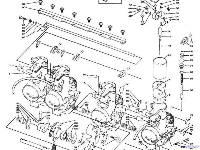 Vergaser, Reparatur & Zubehör, Ersatzteile für Keihin